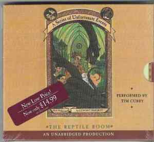 NEW! SEALED! A Series Of Unfortunate Events 2: The Reptile Room (unabridged CD)