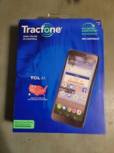 Tracfone TCL A1 4G LTE 16GB Prepaid Cell Phone New Factory Sealed