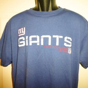 Vintage New York Giants NFL Football Reebok T Shirt Sz Adult Medium Cotton/Poly