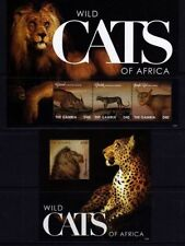 Cats African Stamps