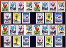 %%WHOLESALE%% HUNGARY 1983 ANNIVERSARY of HOT AIR BALLOONS set of 7 (x4) MNH