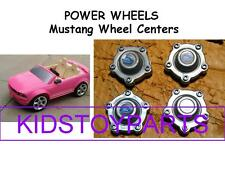 Power Wheels Ford Mustang Set of 4 Wheel Center Caps