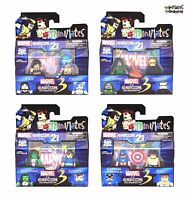 Marvel vs Capcom 3 Minimates Wave 3 Complete Set