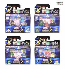Marvel vs Capcom 3 Minimates Wave 3 Complete Set