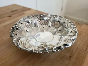 Sterling Silver Meriden Britannia Sterling Silver Trinket Bowl Candy Dish 85g 6""