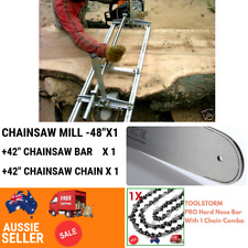 """48"""" Mill+42""""Bar + 1 Chain 404 Fit Stihl Chainsaw MS381 066 064 MS660 MS661 MS390"""