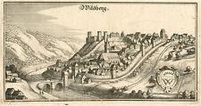 Wildberg/Schwarzwald: Kupferstich, Merian, ca. 1650