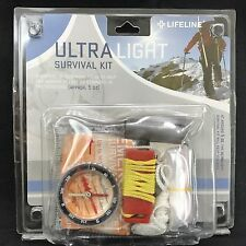 LifeLine Ultra Light Survival Kit 29 Piece #4052 Hiking Camping Emergency Gear