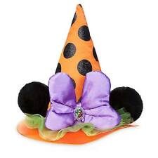 Disney Parks Authentic Minnie Mouse Witch Hat Kids Costume Dress Up NEW