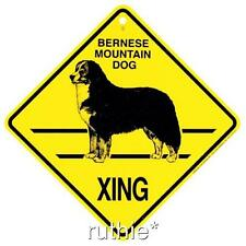 Bernese Mountain Dog Crossing Xing Sign New