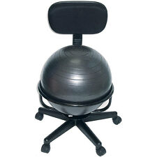 Fitness Office Chair Balance Ball Exercise Yoga Workout Back Posture Home Health