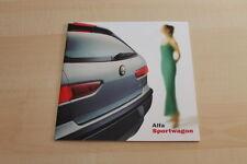 134547) Alfa Romeo 156 SW Prospekt 09/2000