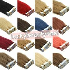 Seamless Super Tape in Human Hair Extensions Skin Weft Straight Remy Hair20-40pc