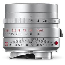 Leica Summilux-m 35mm F/1.4 ASPH Silver 6-bit 11675 M 240 M-p M9 M8