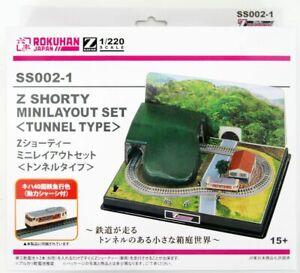 Rokuhan SS002-1 Z Shorty Mini Layout Set (Tunnel Type) (Z Scale)