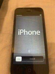 Apple iPhone 5 Black 16GB GSM Smartphone - EE. Factory Reset