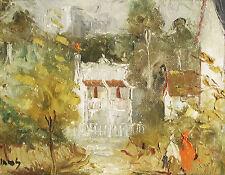 WILMOTTE WILLIAMS (1916-1992) Original Oil Terrace House Paddington 1970