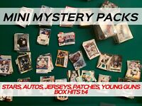 MINI MYSTERY HOCKEY PACK - AMAZING VALUE - AUTOS & JERSEYS *READ DESCRIPTION*