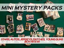 MINI MYSTERY HOCKEY PACK - AMAZING VALUE - AUTOS & JERSEYS *READ DESCRIPTION*