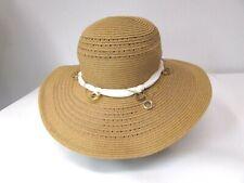 a712f9f5865c7 Women's GENIE By EUGENIA KIM Wide Brim Straw Hat w/ Gold Chain