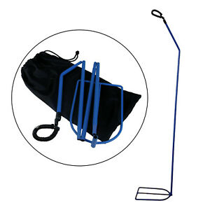 Foldable Cpap Hose Holder For Health Wellness Collapsible Portable Blue