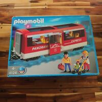 Playmobil 4124 Passanger Train Panorama Express Car Complete Boxed VGC Gscale