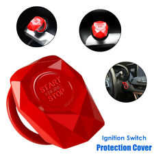 1×Car Engine Push Button Protection Cover Start Decorative Ignition Switch Trims