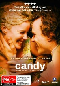 Candy DVD_Heath Ledger_Abbie Cornish_2006 Drama Movie_Region 4 Aust