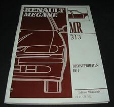 Werkstatthandbuch Karosserie Renault Megane Typ BA D64 Besonderheiten 1996
