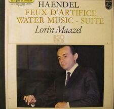 LORIN MAAZEL feux d'artifice/walter music HAENDEL VG++