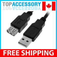 6 Feet USB 2.0 Type A Male to Female Extension Cable