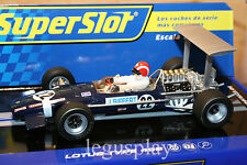 Slot SCX Scalextric Superslot H3413 Lotus Type 49B - Jo Siffert - 1968 - New