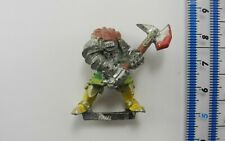 CHAOS WARRIOR Metal Realm of Chaos Warriors Army Painted Warhammer 1980s E4b