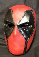 Deadpool Resin Half Mask Quality Resin Cast Hand Painted