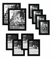 Americanflat Picture Frame Set 4x6  5x7  8x10 Gallery Wall 10 Pack Pick Color