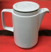 1 v. 17 große Rationell Porzellan Kaffeekanne | HO | Mitropa