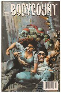 BODYCOUNT #3 ~ IMAGE 1996 ~ Teenage Mutant Ninja Turtles  NEWSSTAND