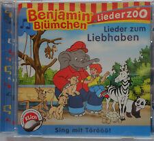 Benjamin Blümchen CD Liederzoo LIeder zum Liebhaben (2009) 14 Lieder - Sing mit