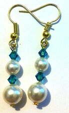 Handmade Crystal Glass Fashion Earrings