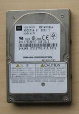 "Festplatte Toshiba MK1403MAV 1443MB 2,5 "" Zoll 1,5GB P-ATA IDE Harddisk ATA-100"