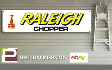 Raleigh Chopper Banner for Workshop, Garage, PVC with eyelets, Retro,