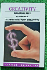 Rare Stuart Wilde Subliminal Affirmations Audio Tape Manifesting Your Creativity