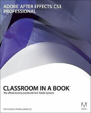 Adobe After Effects CS3 Professional Classroom in a Book-ExLibrary