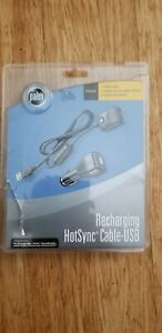 New Palm Recharging HotSync USB Cable 3ft Charging & Sync Cord P10884U