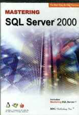 Mastering SQL Server 2000 & 7 Learn Tutorial CBT Step by Step Training PC & MAC
