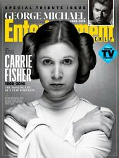 Entertainment Weekly Magazine Carrie Fisher STAR WARS George Michael 1963-2016