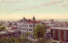 1908 BIRD'S EYE VIEW, SEDALIA, MO.