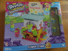 Shopkins Kinstructions Flower Stand, 101 pcs - Includes 3 Buildable Figures!