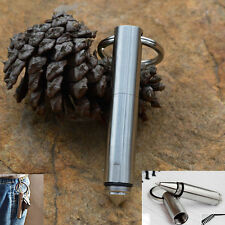 Dito Stainless Steel Mini Tactical Pen Keychain Survival Defense Tool
