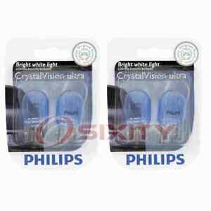 2 pc Philips Rear Turn Signal Light Bulbs for Ford Fusion Ranger 2010-2017 jf